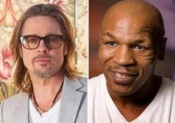 Mike Tyson Claims Brad Pitt Slept with His Ex Wife | Online Entertainment News | Scoop.it