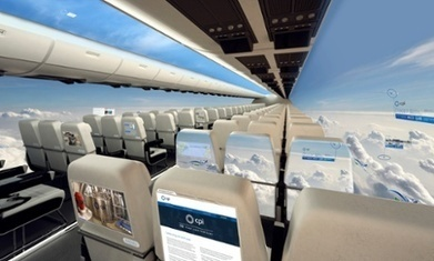 The windowless plane set for take-off in a decade | KLM | Scoop.it