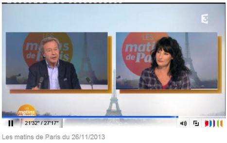 France 3 Paris Ile-de-France - Nathalie Serrault est l'invitée des Matins de Paris   Nathalie Serrault   Scoop.it