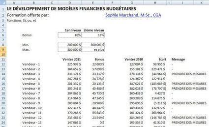 Excel : Imbriquer des SI, ET, OU dans vos formules | Je, tu, il... nous ! | Scoop.it