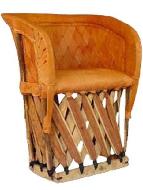 Weave Back Mexican Equipale Chair Furniture | Mexican Equipale Furniture | Scoop.it