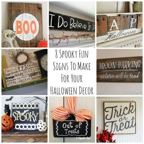 8 Spooky Fun Signs To Make For Your Halloween Decor | Business Signage by Metro Sign & Awning | Scoop.it