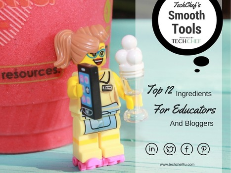 12 Cool Ingredients for Concocting & Creating Content - Edutech for Teachers | Teaching and Learning Resources for Faculty | Scoop.it