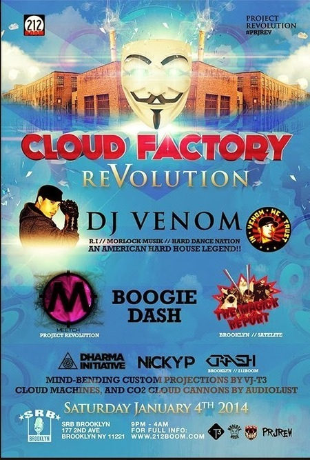 Cloud Factory rave moves to Gowanus location for latest installments, no mention of 700 Atlantic Avenue venue | brooklyn music | Scoop.it