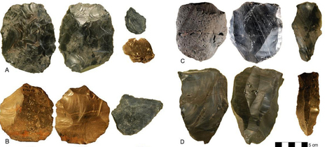 Stone tools discovery prompt re-think of African theory | Teaching history and archaeology to kids | Scoop.it