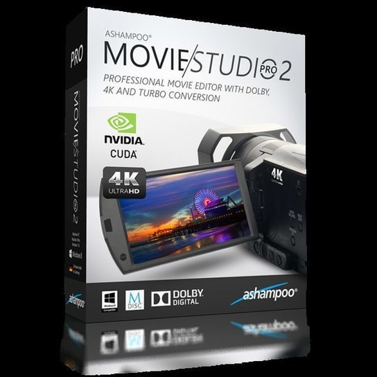 Ashampoo Movie Studio Pro 2 (5 Lifetime Licenses)