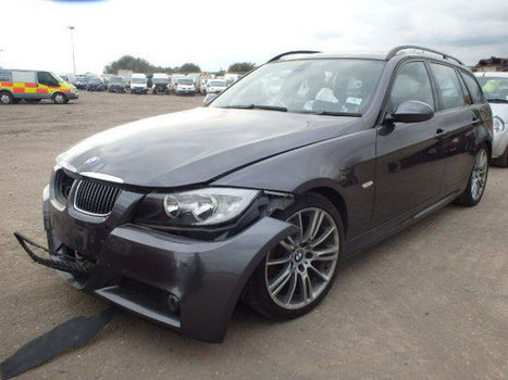 Salvage 2008 grey Bmw 325I M Spo with VIN WBAVV32040A on auction   cars   Scoop.it