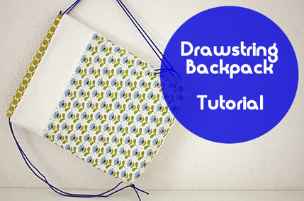 Happy in Red: Drawstring backpack tutorial | Einfach Nähen | Scoop.it