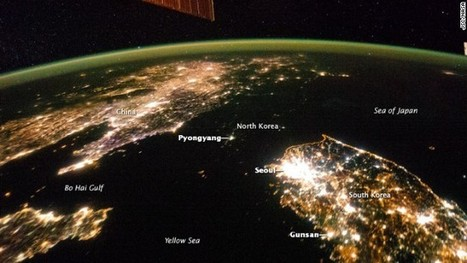 NASA images from space show North Korea shrouded in darkness   Modern Middle East   Scoop.it