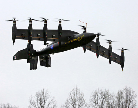 NASA's New 10-Engine Drone Is Half Chopper, Half Plane | cross pond high tech | Scoop.it