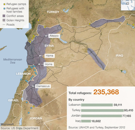 Syria: Mapping the insurgency | Cartographie collaborative | Scoop.it