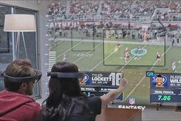 Concept de Super Bowl en réalité mixte avec les HoloLens de Microsoft | Vous avez dit Innovation ? | Scoop.it