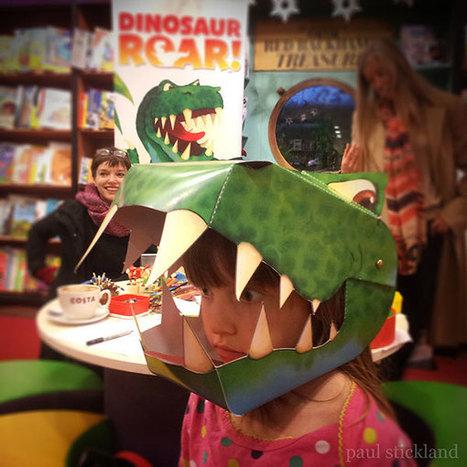 Dinosaurs Roar in Waterstones Cheltenham! | Dinosaur Roar! | Scoop.it