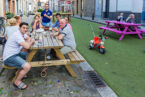 Belgian Streets Got Rid Of Cars And Turned Into Beautiful Parks This Summer   Vertical Farm - Food Factory   Scoop.it