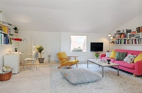 Fabulous Swedish Apartment | | Interioraholic | Scoop.it