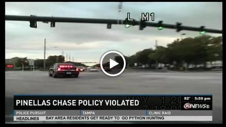 VIDEO: 6 Florida deputies suspended for a few days for violating high-speed chase policy and lying about crash | The Billy Pulpit | Scoop.it