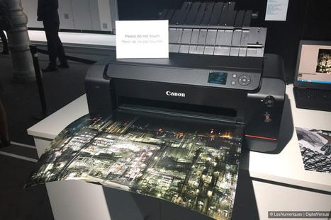 Canon imagePROGRAF PRO-1000, une imprimante photo A2 - Les Numériques | Actualités de la photo et techniques | Scoop.it