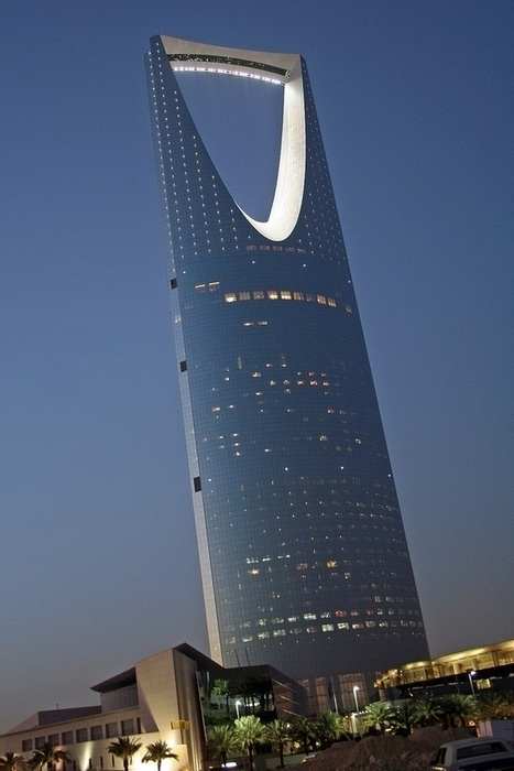 Kingdom Centre - Riyadh, Saudi Arabia   Incredible Pictures   Loveable Architecture   Scoop.it