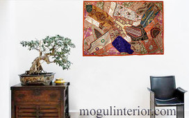 Asian Tapestry - asian - throws - other metro - by Mogulinterior | Vintage Style Decor With Antique Furniture | Scoop.it