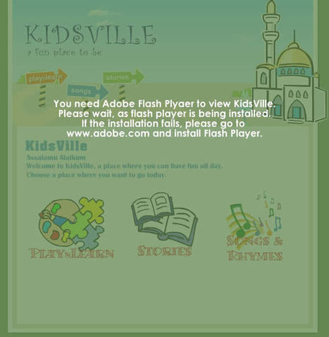 KidsVille - An islamic fun sites for Kids | nurorigami | Scoop.it
