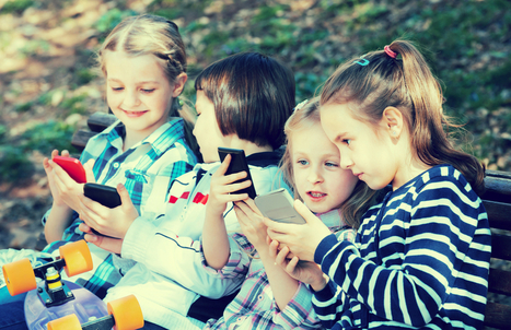 Do mobile devices stunt social-emotional skills?   Technology   Scoop.it