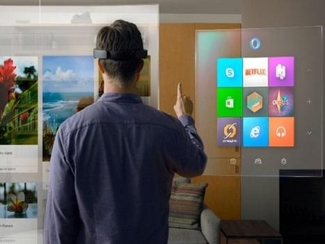 Microsoft supreende tudo e todos com o HoloLens e aposta forte na realidade aumentada | REA | Scoop.it