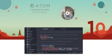 Atom 1.0 se dévoile - Alsacreations | Web mobile - UI Design - Html5-CSS3 | Scoop.it