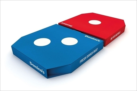 Domino's New Pizza Delivery Boxes in the U.K. Are Just Bloody Awesome | Mind Your Business! | Scoop.it