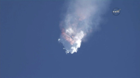 SpaceX's Rocket Explodes on the Way to the ISS | Amazing Science | Scoop.it