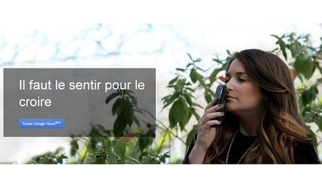 Google Nose : la nouvelle fonctionnalité de recherche olfactive | Android for Business | Scoop.it