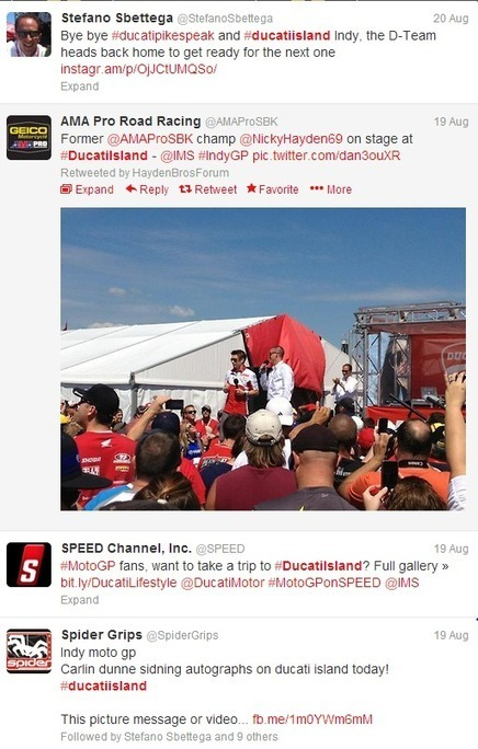 Why The Best Way To Watch Racing Might Be Twitter | Ducati.net | Ductalk Ducati News | Scoop.it