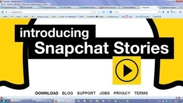 Snapshot, Facebook etl'usageraisonné desados | Territoires Virtuels | Scoop.it