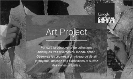 Google Art Project : 151 musées et leurs œuvres dans votre navigateur | médiation numérique - livres- culture -musique -cinema | Scoop.it