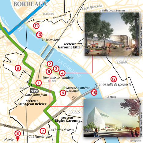 Visite en Euratlantique : ce que l'on sait du futur quartier | Bordeaux place tertiaire | Scoop.it