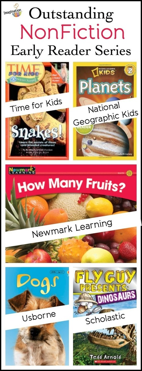 Outstanding Nonfiction Early Reader Series | Learning and Teaching Literacy | Scoop.it
