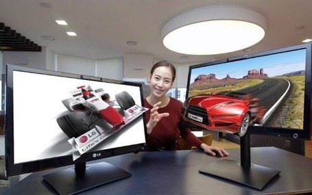 LG updates eye-tracking, glasses-free 3D displays, learns to love the hyphen | Machinimania | Scoop.it