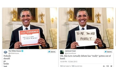 Barack Obama et l'Obamacare, le grand détournement sur Twitter | Web, E-tourisme & Co | Scoop.it