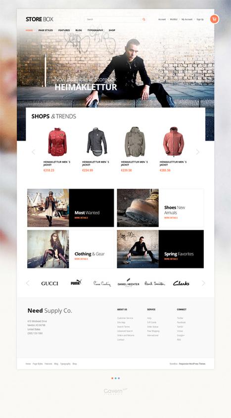 Gavick Storebox, WordPress Professional E-Commerce Theme | WP Download | 123 | Scoop.it