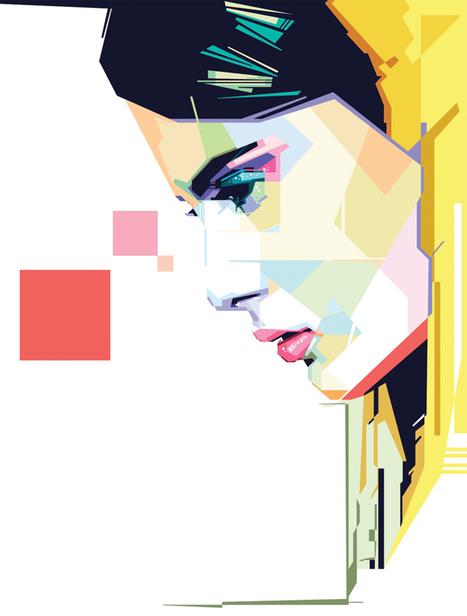 Girl 3.CDR | GRAPHISME | Scoop.it