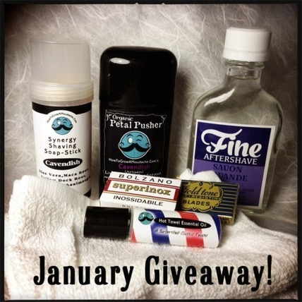 How To Grow A Moustache January Giveaway! | How to Grow a Moustache | How to Grow a Moustache | Scoop.it