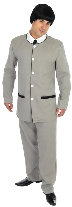 Mens Beatles 1960's Grey Suit Fancy Dress Costume | Fancy Dress Ideas | Scoop.it