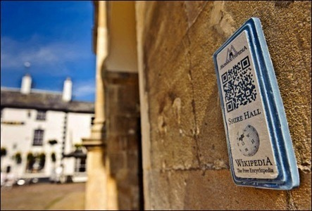 QR codes at the heart of Monmouthpedia | Linked in Groups ... | Using QR Codes | Scoop.it