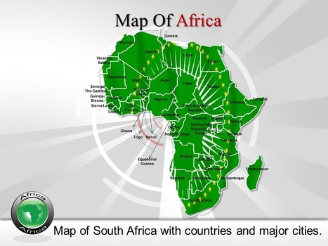 Online Editable Africa Maps PowerPoint Presentations | PowerPoint Maps | Scoop.it