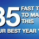 35 Fast Tips to Make This Your Best Year Yet   Education and Motivation   Scoop.it