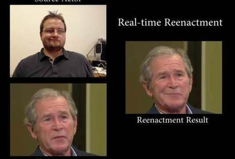Real time face capture lets you control famous faces | Tools You Can Use | Scoop.it