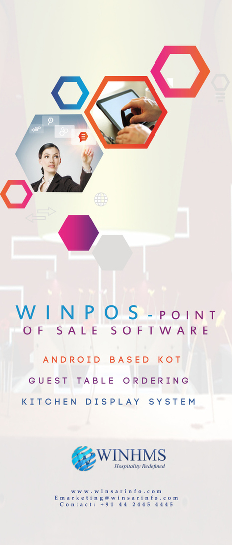 WINHMS- An Android Based Software For Restaurant Management | Hotel Management Software | Scoop.it