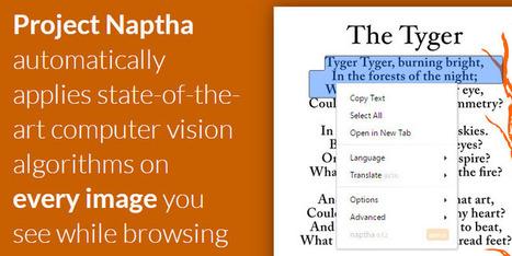 Extensão para Chrome permite copiar textos dentro de imagens - Zuti | Math, education and technology | Scoop.it