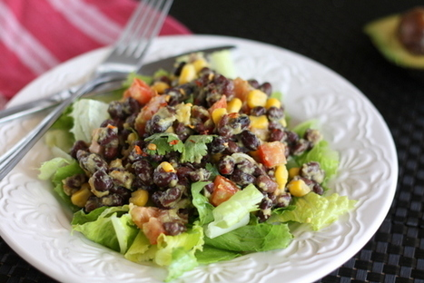 Spicy Black Bean Guacamole Salad   The Man With The Golden Tongs Goes All Out On Health   Scoop.it