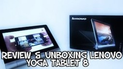 Review & Unboxing Yoga Tablet 8 LENOVO | PgunMan | Monhardware.fr | Scoop.it