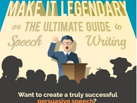 A Simple Guide to Writing a Memorable Speech [Infographic] | Technology in Art And Education | Scoop.it